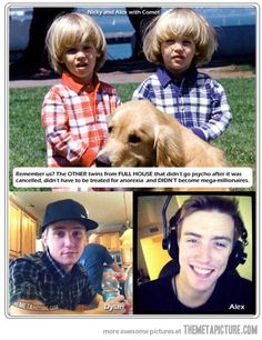 Funny pictures about The twins from Full House. Oh, and cool pics about The twins from Full House. Also, The twins from Full House. I Smile, Make Me Smile, Raining Men, Janis Joplin, Full House, Look At You, Dylan O'brien, Gossip Girl, Laugh Out Loud