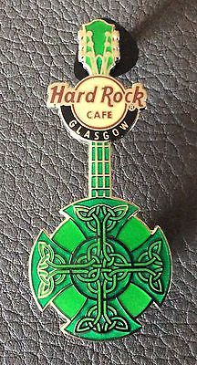 Glasgow Hard Rock cafe pin Celtic Knot Guitar in Collections, Pins, Autres | eBay