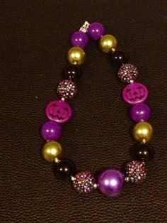 RTS+Halloween+Chunky+Bubblegum+Necklace+by+PsCreation+on+Etsy,+$16.00