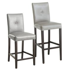 Why the long face? Oh. No bar stool. Our exclusive Mason design will have you smiling again. This handcrafted, hand-finished stool includes a solid birch wood frame, cushy padding and bonded leather upholstery that offers superior durability and strength, all at a not-so-hide-leathering price.