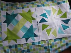 Made On Main Street: 1 More Block - This website is full of lots of great Modern Quilts