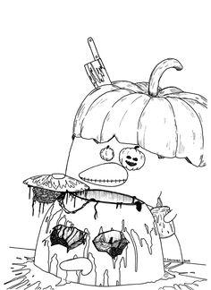 Gallery - Pena The Unholy  Pena The Unholy -  Pumpkin Season   Halloweeeen