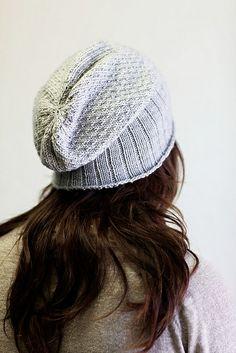 Ravelry: Honey Hat pattern by Jenn Nevitt $4.00. 5 & 7 needles