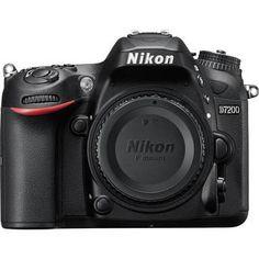 Nikon D7200 DSLR Camera (Nikon D7200 Body) 1554 B&H Photo Video