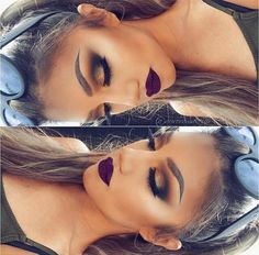 Make-up goals! Gorgeous Makeup, Pretty Makeup, Love Makeup, Makeup Inspo, Makeup Goals, Makeup Tips, Beauty Makeup, Makeup Ideas, Makeup On Fleek