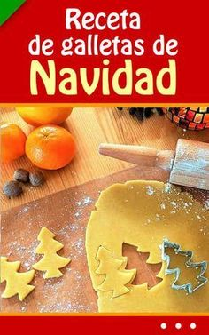 #receta de #galletas de #Navidad. ¡Fácil! #navideñas