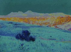 Blue Prairie Midnight by Cris Fulton