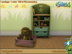 Animal basket conversion at Designs for Sims • Sims 4 Updates
