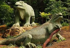 Dinosaurs in Crystal Palace Park - from Your Guide to Free and Fun Things To Do in London