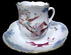 ユーロクラシクス|マイセン サマーナイトドリーム Cup Art, Make Beauty, China Painting, Teacups, Tea Set, Cup And Saucer, Hot Chocolate, Tea Time, Dinnerware