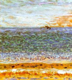The Sea -· Pierre Bonnard . 1944Post-impressionism