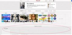Así quedaría tu perfil de Pinterest con tablones secretos (que solo puedes ver tú) #yoyomismoysocialmedia www.yoyomismoysocialmedia.com