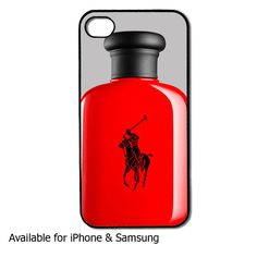 Polo bottle iphone case and samsung case by DCsub on Etsy, $13.89