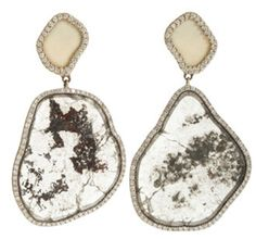 """Stranger: """"Neat earrings!"""" ME: """"Thanks- They're wolly mammoth ivory"""" #ThingsIdLikeToBeAbleToSayAtACocktailParty"""