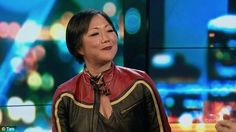 Face swap: Margaret Cho told The Project panel on Friday that she could switch…