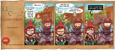 """Hey The Book of Unwritten Tales 2 fans,  """"A GAME OF TROPES"""" is out! Remember the scene? #BOUT2 #gameofthrones #funny #comic The Book, Humor, Comics, Games, Funny, Books, Scene, Libros, Humour"""