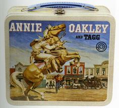 Annie Oakley and Tagg Vintage lunchbox