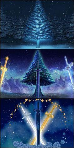 Sword Art Online Movie, Sword Art Online Asuna, Online Anime, Online Art, Sword Art Online Wallpaper, Kirito Asuna, Aesthetic Backgrounds, Galaxy Wallpaper, Anime Art Girl