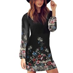 Watch this product and see why millions are pouring in Women Summer Styl... a great product you can count on here http://www.costbuys.com/products/women-summer-style-2016-newest-shift-dresses-beautiful-black-long-sleeve-floral-print-round-neck-chiffon-short-mini-dress-s-xl?utm_campaign=social_autopilot&utm_source=pin&utm_medium=pin