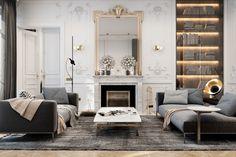 Exquisite flat in Paris by Diff Studio