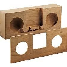 Bildresultat för wooden phone amplifier