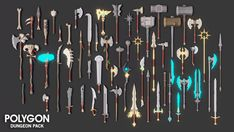POLYGON - Dungeons Pack - Asset Store