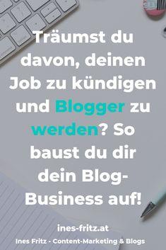 Willst du endlich einen Blog aufbauen und damit Geld verdienen? Das sind die Schritte, die du dafür gehen musst! Earn From Home, Make Money From Home, How To Make Money, Content Marketing, Affiliate Marketing, Business Inspiration, Windows 10, Blockchain, Mindset