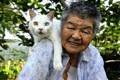 This Japanese Woman Took in a Stray Cat, and They Have Been Inseparable Ever Since