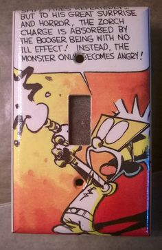 Calvin and Hobbes Spaceman Spiff comic strip by PastePotPrefects