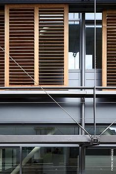 University of Otago Psychology Building. With COLORSTEEL® roof in Titania. Steel Structure, Blinds, Psychology, University, Building, Home Decor, Steel Frame, Psicologia, Decoration Home