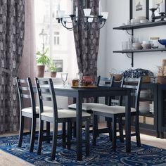Ikea Lerhamn Dining Room 3D Model - 3D Model