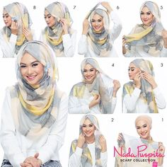 This is a most worn hijab look,we notice the differences in the volume of folds or Hijab patterns Or maybe the kind of fabric used but this remains the most used and appreciated Hijab look by bloggers. Follow the steps…