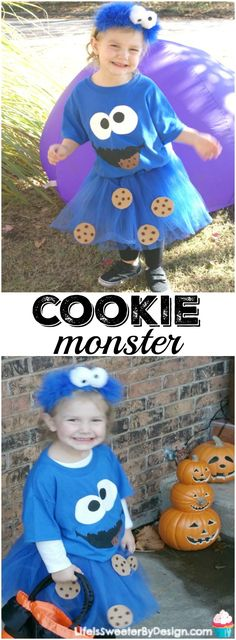 Find out how to make a Cookie Monster Costume at home for your child. This…