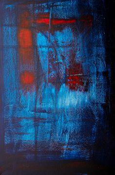 David Muddyman - Glassworks #1 (acrylic on canvas 70cm x 50cm)