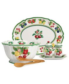 Villeroy & Boch Serveware, French Garden Figural Collection - Casual Dinnerware - Dining & Entertaining - Macy's