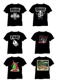 The Brains European merch Brain, Bands, Mens Tops, T Shirt, Fashion, The Brain, Moda, Tee, Fasion