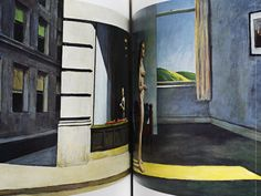 Two Women in Hopper Book