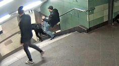 Fahndung nach 27-Jährigem: Gegen U-Bahn-Treter ist Haftbefehl erlassen