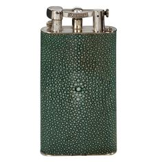 Rare 'Giant' Dunhill Shagreen Lighter, 1930s | From a unique collection of antique and modern tobacco accessories at http://www.1stdibs.com/furniture/more-furniture-collectibles/tobacco-accessories/
