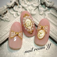 Gorgeous Nails, Love Nails, Pink Nails, Asian Nails, Kawaii Nail Art, Human Doll, Nail Jewels, Diamond Nails, Nail Games