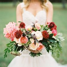 This #wedding full of the prettiest blooms is on the blog now! | Photography: @aprylannphoto | Cinematography: @whenitclicks | Floral Design: @the_southerntable | Event Planning + Design: @birdsofafeatherevents | Party Rentals: @BellaAcento | Hair + Makeup: @prettylittlestyledallas | The Venue: @thegrovetx