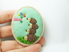 Building friendship on a flower by hanaletters, via Flickr