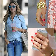 Monday Must Have: Olivia Palermo Style – Red Nail Polish (Style Elixir) Nail Polish Style, Red Nail Polish, Red Nails, Pastel Nails, Olivia Palermo Wedding, Style Olivia Palermo, Essie, Mary Janes, Mode Outfits