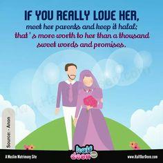 Islam Marriage, Keep It Real, Sweet Words, Hadith, Deen, You Really, Islamic Quotes, Ramadan, Quran