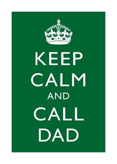 No matter how old you are... or in my case, freak out and call dad so he can calm you down.