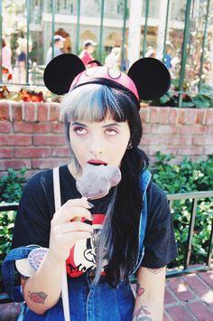 Mel enjoying a Mickey Mouse ice lolly... #RePin by AT Social Media Marketing - Pinterest Marketing Specialists ATSocialMedia.co.uk