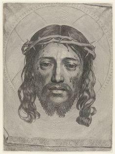 Desenho de Jesus feito com uma única linha
