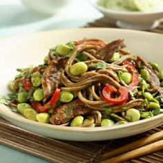All of my recipes I'll be posting will be stomach-friendly, and this is a great candidate! Looking forward to making this asian edamame pasta dish!