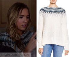 Nashville: Season 4 Episode 13 Maddie's Fair Isle Knit Sweater