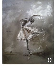 "Ballet dancers have always inspired painters from around the world. Drawberry has found the most incredible ballet-themed paintings! ARTFINDER: "" BALLERINA "" by Monika Luniak - OIL ON CANVAS signed with a certificate of authenticity. Ballerina Kunst, Ballerina Painting, Ballerina Drawing, Ballet Drawings, Drawings Of Ballerinas, Dance Paintings, Paintings On Canvas, Oil Paintings, Ballet Art"